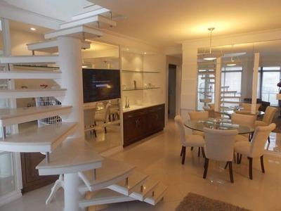 Apartamento Duplex Em Centro, Florianópolis/sc De 200m² 3 Quartos Para Locação R$ 10.000,00/mes - Ad181440