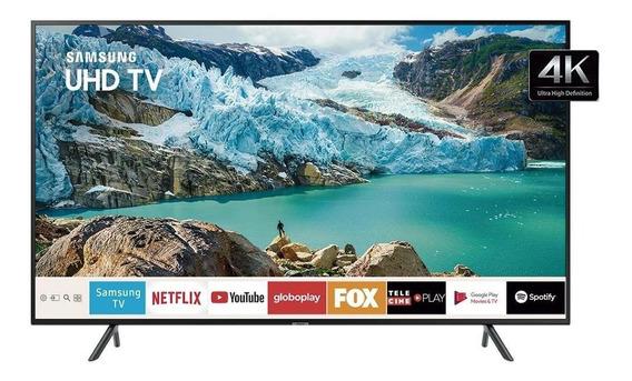 Smart Samsung Tv Uhd 4k 55 Ru7100 Vsisual Livre De Cabos