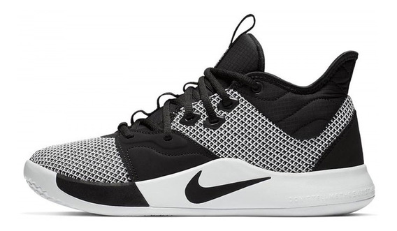 Tênis Nike Pg3 Paul George Monochrome Basket,pronta Entrega