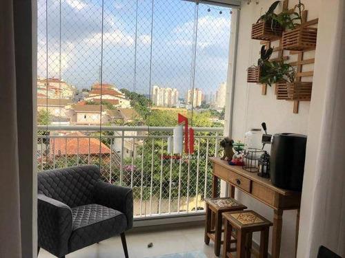 Apartamento Com 2 Dormitórios À Venda, 70 M² Por R$ 439.000,40 - Freguesia Do Ó - São Paulo/sp - Ap0434