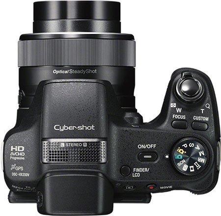 Câmera Sony Semi Profissional Dsc-hx200v
