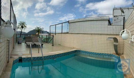 Cobertura Com 2 Dormitórios À Venda, 220 M² Por R$ 848.000,00 - Vila Belmiro - Santos/sp - Co0119