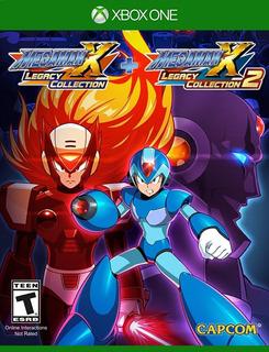 Megaman X Legacy Colection 1 Y 2 Xbox One (en D3 Gamers)