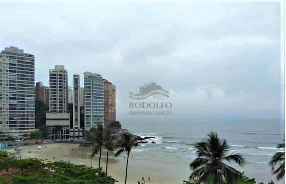 Guarujá Pitangueiras, Reformado, 2 Dormitórios, Vista Mar, Vaga, Ótima Localização. - Ap0946