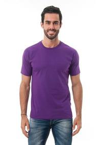 Camiseta Masculina Algodão Básica Camisa Atacado Camisa Lisa