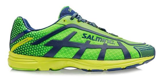 Zapatillas Salming Distance D5 Hombre Running Gym Importadas