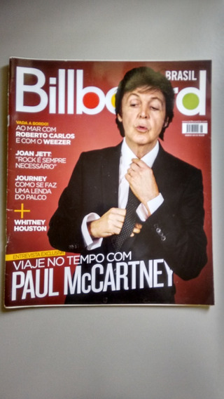Revista Billboard 28 Paul Mccartney Roberto Carlos Y054