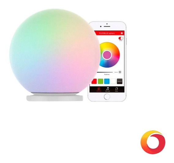Lampara Led Mipow Sphere Bluetooth Ctrol Celular Tablet