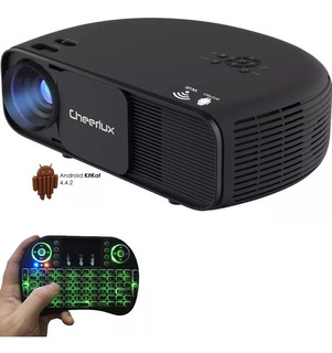 Proyector Profesional Led Wifi Android 4000 Lumens Multipuertos