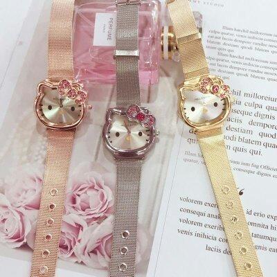 Reloj Kitty, Regalo Niña, Reloj Pulcera De Moda