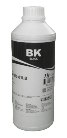 1 Litro Tinta Black Corante Inktec L120 L375 L380 L395 L805