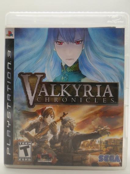 Valkyria Chronicles Play Station 3 Original Mídia Física