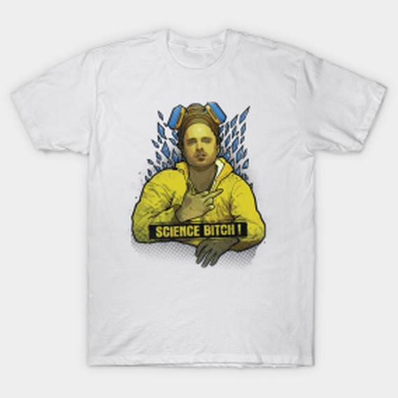 Remera Breaking Bad Hombre Stock Solo Blanco Firefly D 7