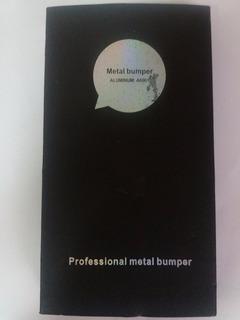 Capa Bumper Alumínio+ Película Xperia T2