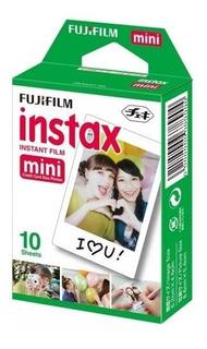 Filme Fujifilm Instax Mini Caixa Com 10 Fotos Coloridas