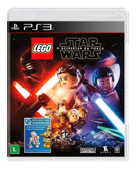 Lego Star Wars O Despertar Da Força Ps3 Mídia Física Lacrado