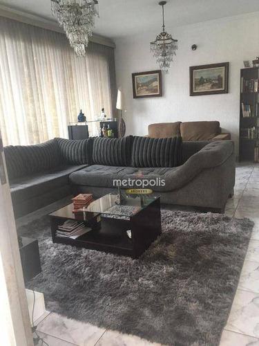 Imagem 1 de 19 de Sobrado Com 3 Dormitórios À Venda, 256 M² Por R$ 1.200.000,00 - Santa Maria - São Caetano Do Sul/sp - So1453