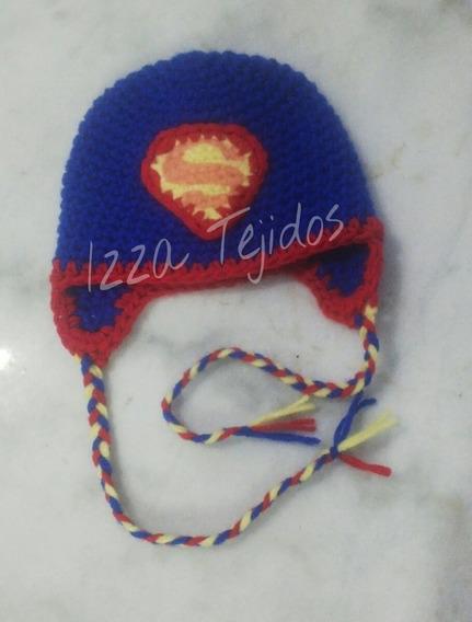 Gorro Tejido Superman