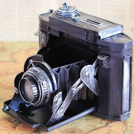 Cofre Câmera Vintage