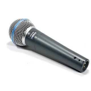 Micrófono Vocal Shure Beta 58a Dinámico Supercardioide