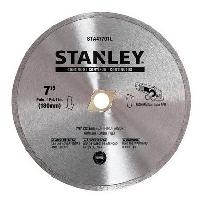 Disco Diamantado 7 Poleg. (180mm) Contínuo Stanley Sta47701l