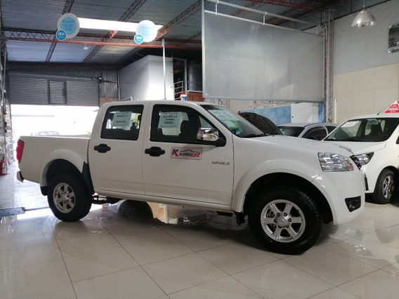Wingle 5 /0km/2.0turbodiesel 4x2/6ta U$23990 Fincio100% Pto