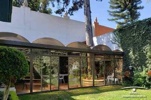 Hermosa Casa En Zona Típica Del Centro De Tlalpan. Cav-4152