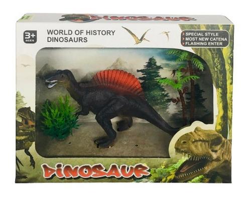 Dinosaurio Con Accesorios En Caja Visor Ar1 C31 Ellobo