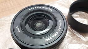 Lente Sony Sel 16-50mm F/3.5-5.6 Montagem-e + Quebra Sol