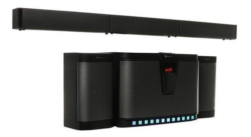 Bocina Klipx 5.1 Zaffire (soundbar), Bluetooth, 300w Rms