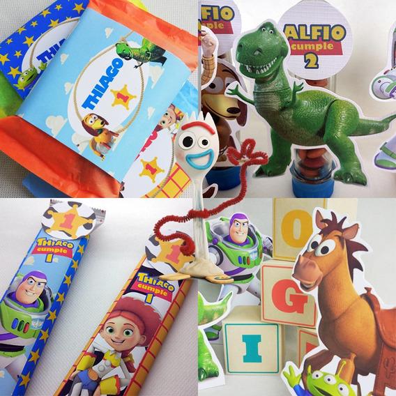 Combo Cuarentena Candy Bar Festeja En Casa Deco Toy Story