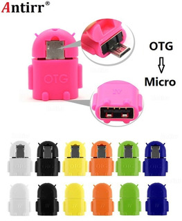 Adaptador Conversor Otg Micro Usb 2 Unidades
