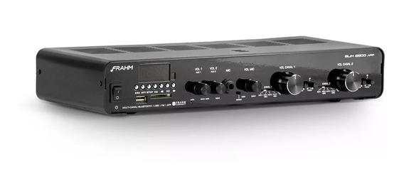 Amplificador Receiver Frahm Slim 2500 App G2 Usb Vitrine*
