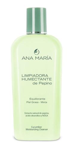 Imagen 1 de 3 de Limpiadora Humectante De Pepino Ana Mar - mL a $199