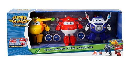 Figuras Super Wings Fotorama  Amigos Súper Cargados 6  1216