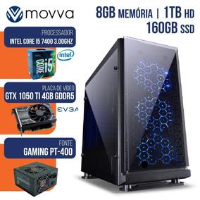 Pc Gamer I5 7400 3.0ghz 8gb 1tb Ssd 160gb Gtx 1050ti 4gb
