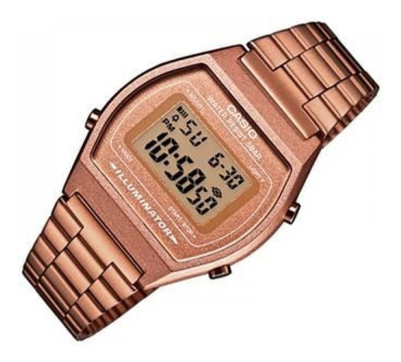Relogio Casio Digital B640 Rose Feminino Caixa Original Nf