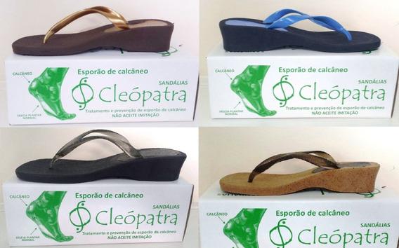 Chinelo Ortoped. Cleópatra P/tratamento Esporão Promoção!