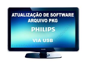 Atualização De Software Pkg Tv Philips 42pfl7007g/78