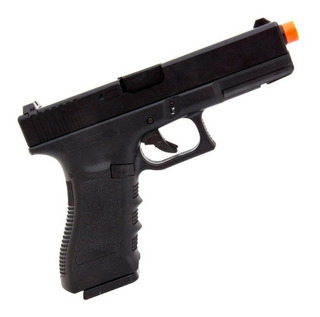 Pistola De Airsoft Army Glock R17 Green Gas Blowback