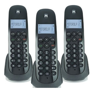 Teléfonos Inalámbricos Motorola 3 Pzas Modelo M700-3