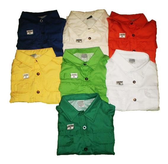 Hermosas Camisas Tipo Columbia Para Niños