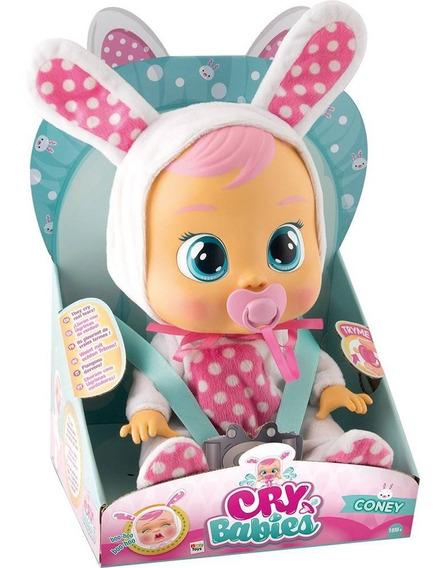 Boneca Interativa Cry Babies Coney Coelha Br528 Multikids