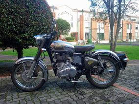 Royal Enfield Classic 500 - Gris Grafito Cromada