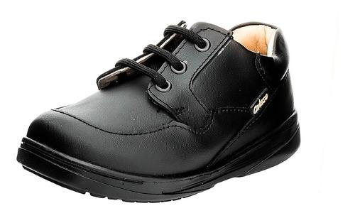 Imagen 1 de 5 de Zapato Escolar De Piel Para Niño Estilo Clásico Coloso