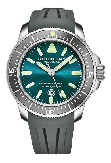 Relógio Stuhrling - Maritimer 935 Quartz 43mm Diver
