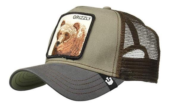 Gorra Goorin Bros Grizzly Oso Nueva Y Original