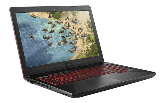 Notebook Asus Gamer Tuf Intel® Core I7-8750h 8gb 256gb Ssd M2 Nvidia Gtx 1060 6gb Tela 15,6 Full Hd Ips 120hz