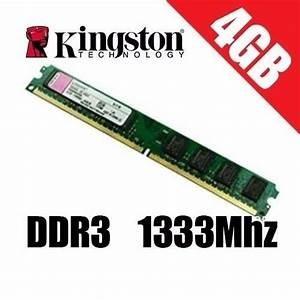 Memória Kingston Ddr3 4gb 1333 Mhz Semi Nova