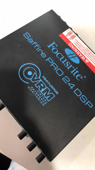 Placa De Áudio / Interface Saffire Pro 24 Dsp